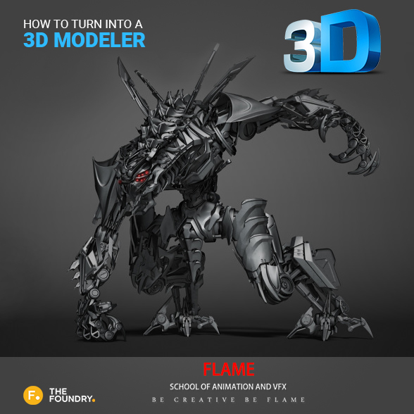 How to turn into a 3D modeler