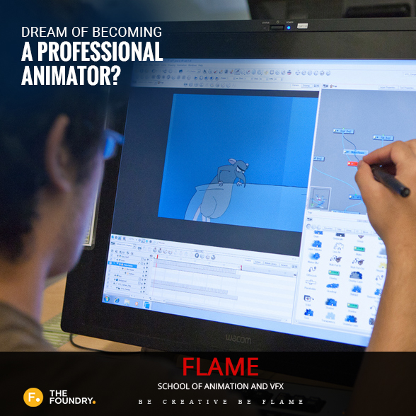Dream of becoming a professional animator